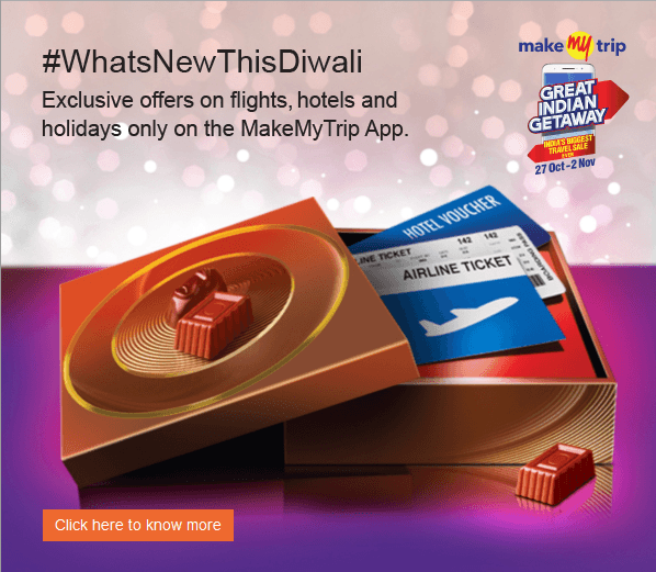 Both domestic and international flight offers can be availed through Citibank credit / debit cards except through corporate credit cards issued by the brand. Under this offer, customers will get a cashback of up to Rs. 1, by using the Promo Code 'FLYNOW.' The cashback will be credited within 60 days from the transaction date.