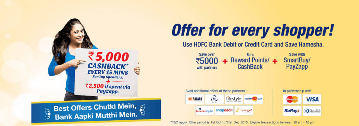 Hdfc credit card bookmyshow coupons