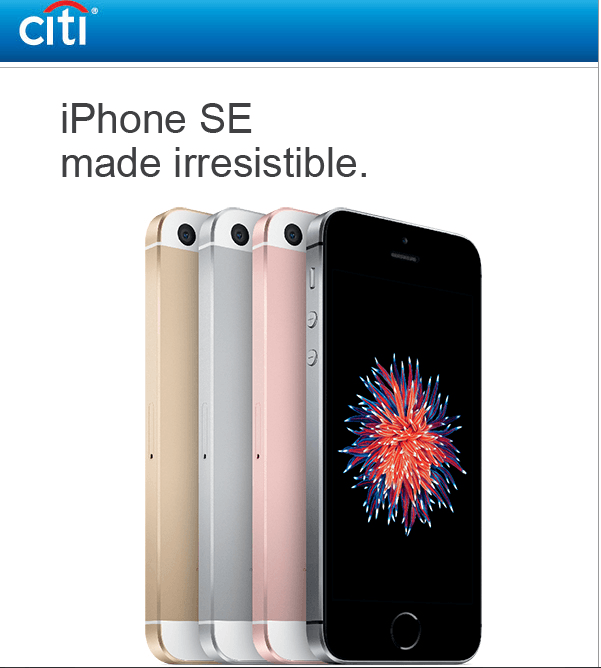 citibank-offers-on-iphone-se
